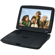 RCA DRC96100 10 LCD Screen Portable DVD Player, Black