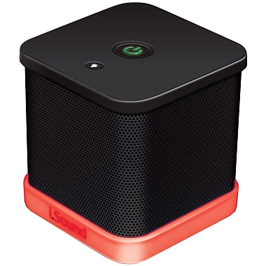 iSound® iGlowSound Cube Portable Wired Speakers