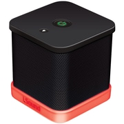 iSound® iGlowSound Cube Portable Wired Speaker, Black