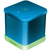 iSound® iGlowSound Cube Portable Wired Speaker, Blue