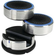 Jensen® SMPS-222 Portable Swivel Speakers