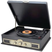 Pyle® Classic Style Turntable With Bluetooth, Black Wood