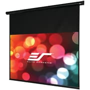 Elite Screens® Starling Series ST100UWH-E24 Electric Projection Screen, Black Casing, 100