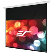 Elite Screens® Starling Series ST100XWH-E24 Electric Projection Screen, White Casing, 100