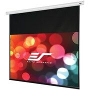 Elite Screens® Starling Series ST120XWH-E14 Electric Projection Screen, White Casing, 120