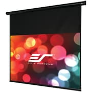 Elite Screens® Starling Series ST135UWH-E6 Electric Projection Screen, Black Casing, 135