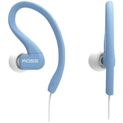 Koss® KSC32 FitClip Ultra Lightweight Headphones, Blue