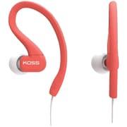 Koss® KSC32 FitClip Ultra Lightweight Headphones, Coral