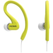 Koss® KSC32 FitClip Ultra Lightweight Headphones, Lime
