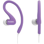 Koss® KSC32 FitClip Ultra Lightweight Headphones, Purple