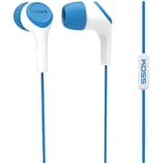 Koss® KEB15i Noise-Isolating In-Ear Headphones, Blue