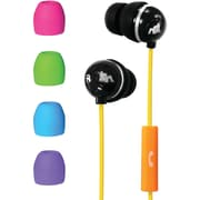 Maxell 195001 Action Kids Earbuds With Microphone, Black