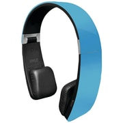 Pyle® PHBT6 Sound 6 Bluetooth 2-in-1 Stereo Headphones With Built-In Microphone, Blue