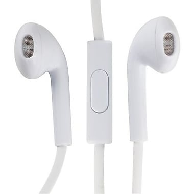 RCA HP180 Noise-Isolating Earbuds, White