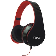 Naxa® NE-931 Pro Headphones, Black/Red