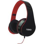 Naxa® NE-931 Pro Headphones, Black/Red