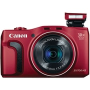 Canon Sx700 16.1 Megapixel Powershot Digital Camera, Red