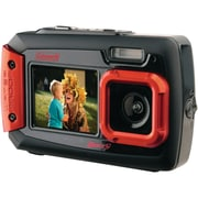Coleman® 2V9WP 20.0 Megapixel Duo2 Dual Screen Waterproof Digital Camera, Red