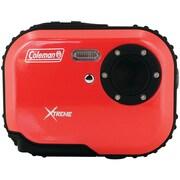 Coleman® C3WP 5.0 Megapixel Mini Xtreme Waterproof Digital Camera, Red