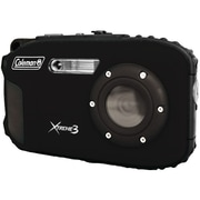 Coleman® C9WP 20.0 Megapixel Xtreme3 HD/Video Waterproof Digital Camera, Black