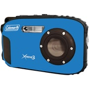 Coleman® C9WP 20.0 Megapixel Xtreme3 HD/Video Waterproof Digital Camera, Blue