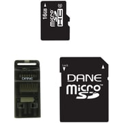 Dane-Elec 3 In 1 16GB microSDHC(microSecure Digital High Capacity) Class 4 Flash Memory Card