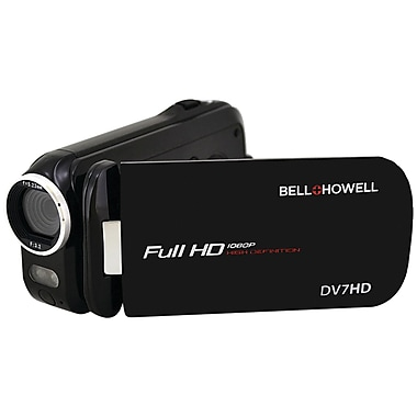 Bell & Howell DV7HD 16.0 Megapixel Slice Ii Ultraslim 1080p HD Camcorders