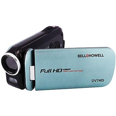 Bell & Howell DV7HD 16.0 Megapixel Slice Ii Ultraslim 1080p HD Camcorder, Blue