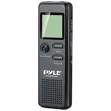 Pyle® PVR300 Rechargeable Digital Voice Recorder With 4GB Built-In Memory