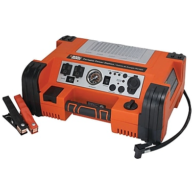 Black & Decker PPRH5B 500 W AC/DC Portable Power Station