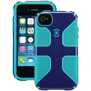 Speck® Candyshell® Grip Case For iPhone 4S, Blue/Caribbean Blue