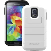 Trident™ Aegis Series Wallet With Flip-Top Cover For Samsung Galaxy S5, White