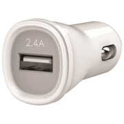 Kanex® 2.4 A USB Car Charger, White