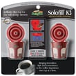 Solofill™ Refillable Filter Cup For Keurig®, Chrome, 2/Pack