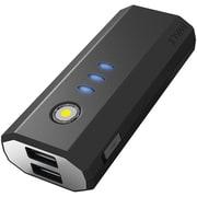 iWALK® Extreme™ 5200 mAh Duo USB Rechargeable Universal Backup Battery, Black