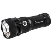 Powertac Thunderbolt Gen II 1000 Lumens Rechargeable LED Flashlight, Black