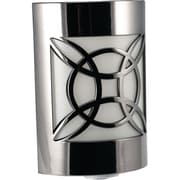 GE Auto Geometric Faux Nickel LED CoverLite™ Night Light