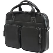 "Mobile Edge Tech 14"" PC/15"" MacBook Briefcase, Black"