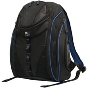 "Mobile Edge Express 2.0 16"" PC/17"" MacBook Backpack, Black/Royal Blue"