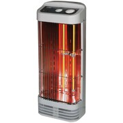 Optimus H-5232 Tower Quartz Heater With Thermostat