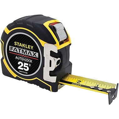 Stanley® FatMax® Auto-Lock Tape Rule, 25'