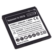 Insten® 392664 3.7 VDC Rechargeable Li-ion Battery For HTC EVO 3D, Black