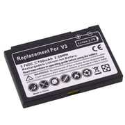Insten® 216465 3.7 VDC Rechargeable Li-ion Battery For Motorola Razr V3, Black