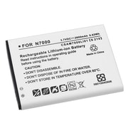Insten® 525264 3.7 VDC Rechargeable Li-ion Battery For Samsung Note N7000, Black