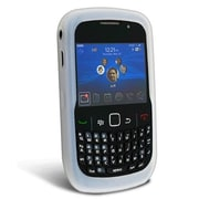 Insten® Silicone Skin Case For Blackberry Curve 8520/8530, Clear White