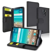 Insten® Stand Leather Case With Card Slots/Magnetic Flap For LG G3 D855