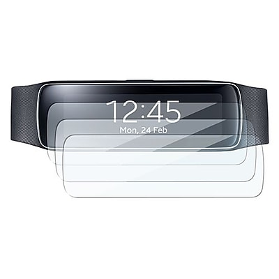 Insten Reusable Screen Protector For Samsung Gear Fit Clear