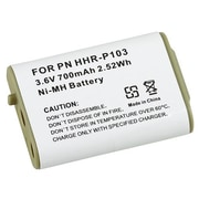 Insten® 316174 700mAh 3.6 V Ni-MH Cordless Phone Battery For Panasonic HHR-P103