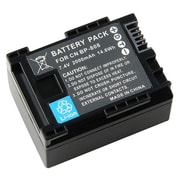 Insten® 284165 7.4 V Rechargeable Decoded Li-ion Battery For Canon BP-808, Black