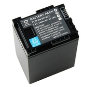 Insten® 283190 7.4 V Rechargeable Decoded Li-ion Battery For Canon BP-827, Black